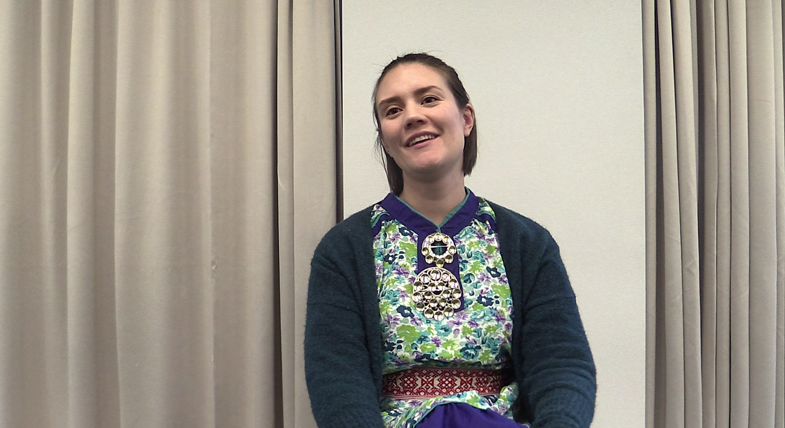 Isalill Simonsen Kolpus is works with helpin Sámi youth in Norway connect with their heritage